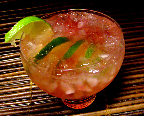 Tangerine-Ginger Caipirinhas Recipes — Dishmaps