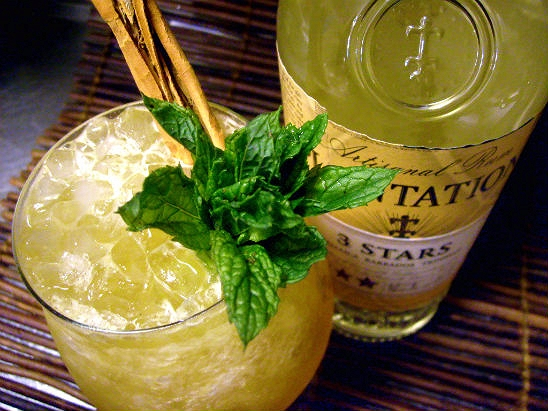 Caribbean Rum Drinks: Plantation Three Stars White Rum « A MOUNTAIN OF CRUSHED ICE