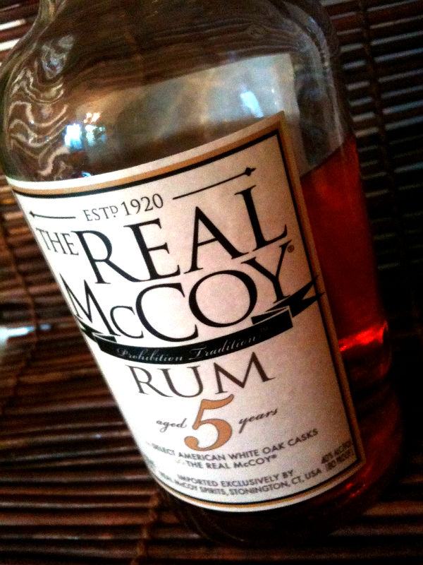 Real McCoy bottle