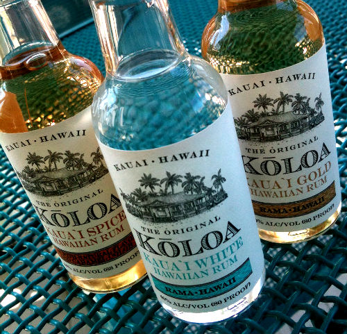 koloa spiced, white and gold