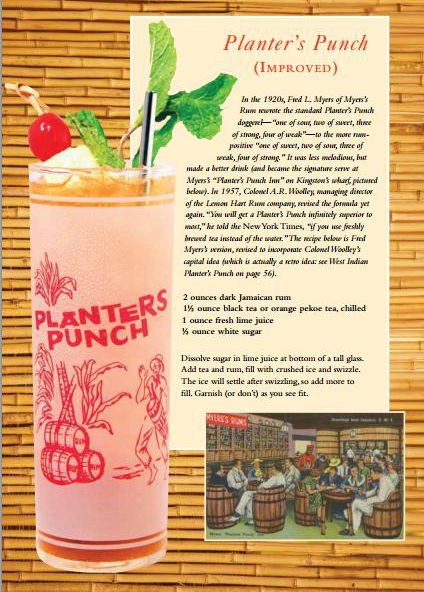 BB Book Planters Punch