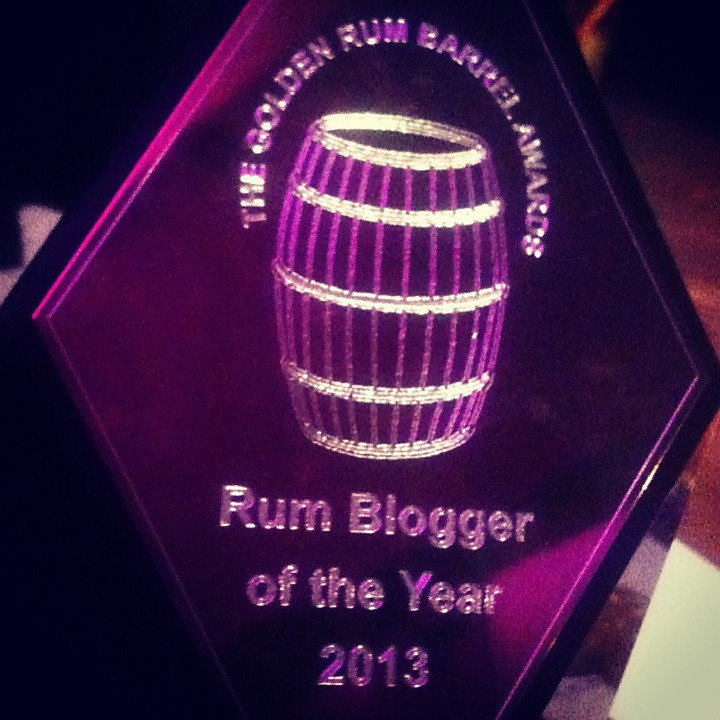 Rum barrel award 2