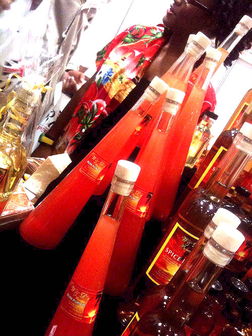 Rumfest 2013 Rum Punches red