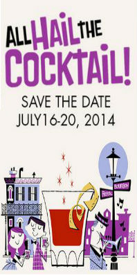 TOTC 2014 All Hail the Cocktail logo
