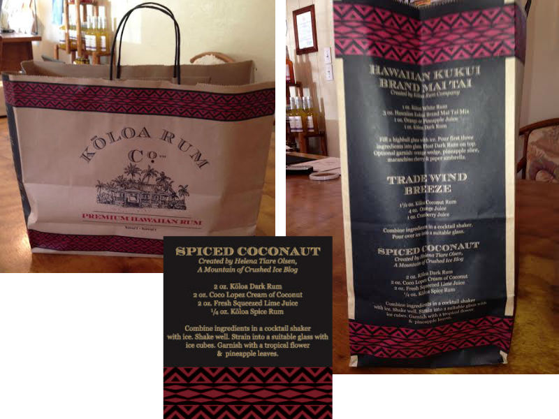 Koloa bag collage
