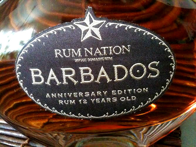Rum Nation Barbados Anniv Edition close up