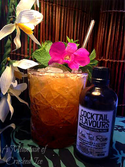 Barrel Aged Mai Tai blog
