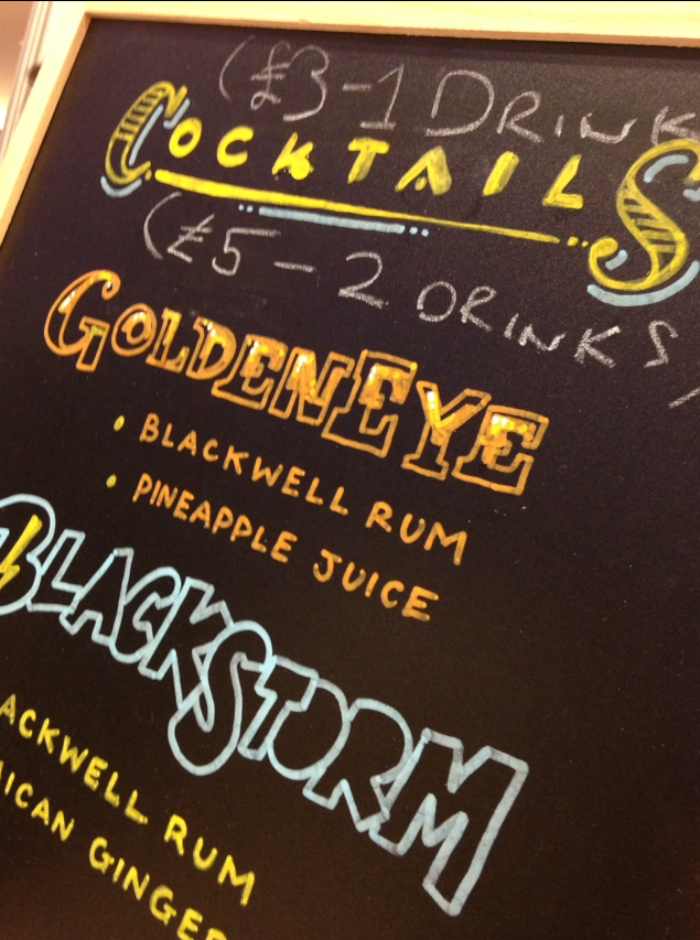 Blackwell rum cocktails