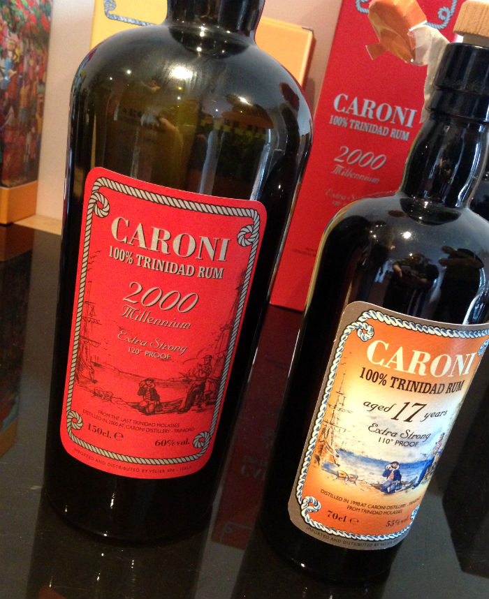 Velier Caroni rums