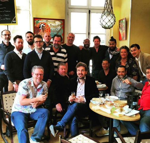The international judges of rhumfest Paris awards
